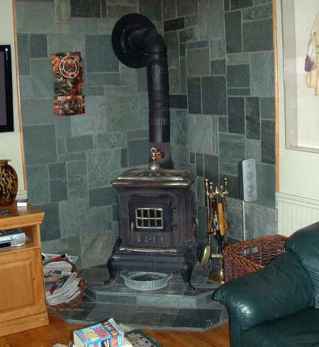 Installation of woodburning inserts and wood stoves